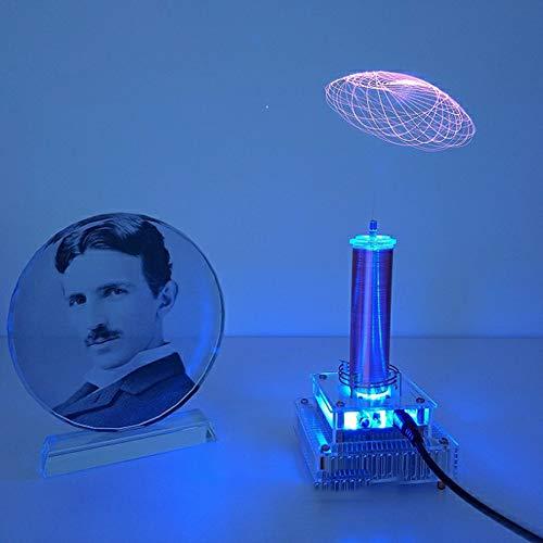 Fai da Te sensore di Potenza agli Ioni di Bobina di Tesla Mettere la Musica Mulino A Vento Corona Distanziati Luci Stazione di Trasmissione Radio Senza Fili