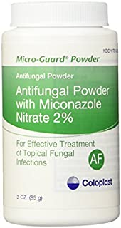 MICRO-GUARD POWDER ANTIFUNGAL. CONTAINS 2% MICONAZOLE NITRATE. WORKS WELL UNDER SKIN FOLDS. TREATS - 3 oz(85g) by Coloplast