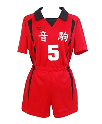 Tanwenling33 Haikyuu Kenma Kozume Cosplay Kostüm Tetsurō Kuroo Kostüm Erwachsene Anime Cosplay Anzug Nekoma High School Uniform