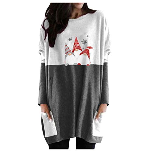 Tops for Women Sexy Gibobby Christmas Movie Coffee T-Shirt Women Long Sleeve Novelty Graphics with Saying Funny and Cute Tee Tops