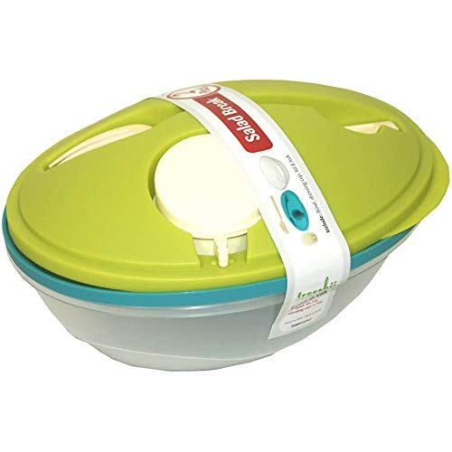 Life Story To-Go Salad Bowl Container w/Bowl, Dressing Cup, Lid, & Fork, 2 Pack