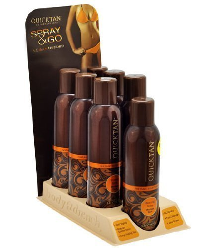 Body Drench Quick Tan Tanning Mist Sunless Tanner Sun Kissed Spray (7 Pieces)
