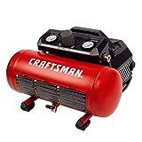 Craftsman 1.5 Gallon 3/4 HP Portable Air Compressor, Max 135 PSI, 1.5 CFM@90psi, Oil Free Air Tank, Electric Air Tool, CMXECXA0200141A