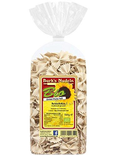 Burk's Bio Dinkel-hell Schleifchen Nudeln - Farfalle Pasta ohne Ei (500 g)