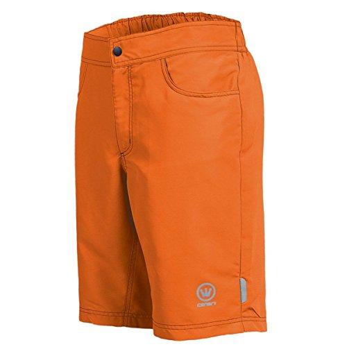 Canari Cyclewear Mens Paramount Baggy Cycling Shorts - 1138 (Orange - XXL)