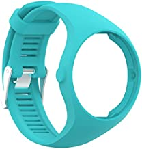 QGHXO Band for Polar M200 Soft Adjustable Silicone Replacement Wrist Watch Band for Polar M200 Watch