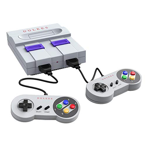 DULEES Retro Video Games Console,HDMI HD Built-in 821 Classic Old Video Games,Nostalgia Memories of Childhood.