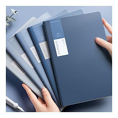 WINON Juego de Mesa Juego de Cartas Cuaderno Simple B5 B5 Soft Cuero Estudiante de Escritura, Escritura de Diario Nota, Tomando Diario y Plan (17.5x25cm; 80 Hojas) (tamaño : B5 10-Piece Set)