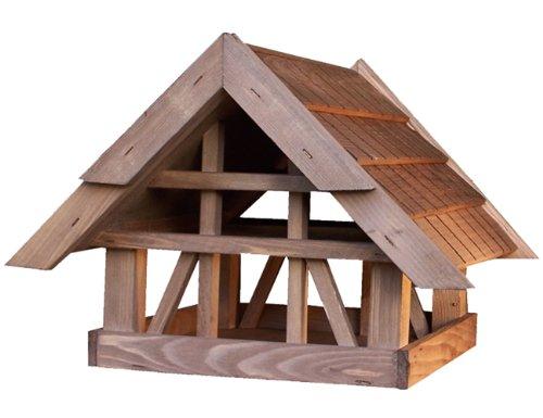 House-Gard 114 Futterhaus Fachwerkhaus 32 x 46 x 46 cm