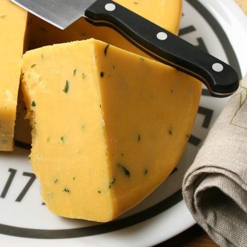 Double Gloucester with Onions and Chives Cheese (1 Pound)