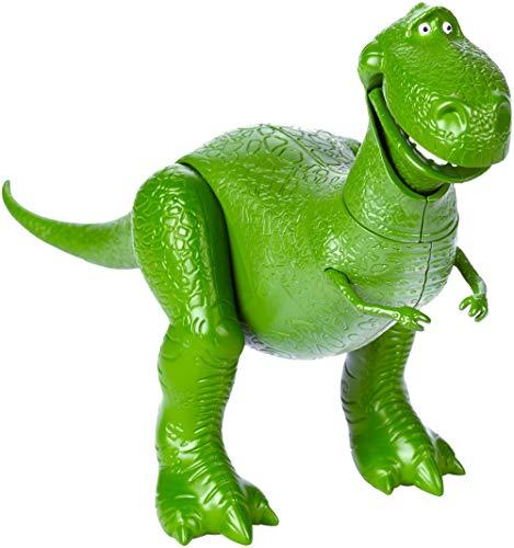 Mattel GGX35 - Toy Story 4 Dinosaurier Spielzeug Rex 17 cm, Spielzeug Actionfigur ab 3 Jahren