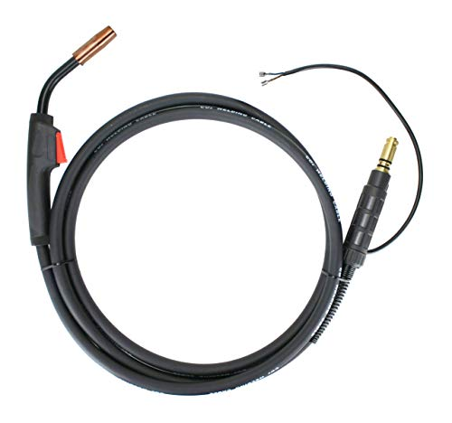 150 Amp MIG Gun Torch replacement for Lincoln Magnum - 12 Feet Cable - Spade Terminals Signal Connectors