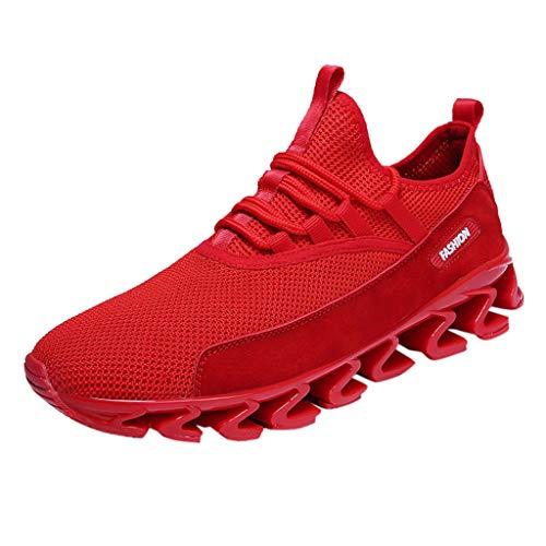 Heren loopschoenen veters sneaker sport fitness gymschoenen ademend loopsportschoen sneakers bergbeklimmen schoenen By Vovotrade