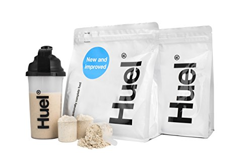 Huel - Anfänger-Kit - Enthält 2 Beutel Vegan Pulver, Schaufel und Broschüre (Vanille - Glutenfrei)