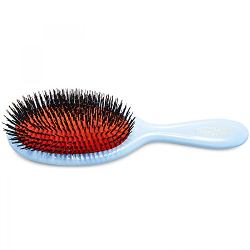 Mason Pearson B2 Poils naturels Brosse à cheveux, XS, Bleu