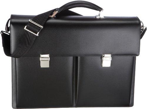 Montblanc meesterstuk LAPTOP-tas nr. 104608 unisex - volwassenen laptoptassen, één maat
