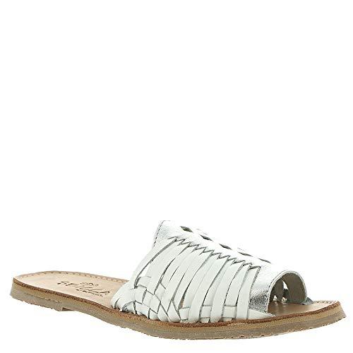 Sbicca Lawrin Women's Sandal 6 B(M) US White-Silver