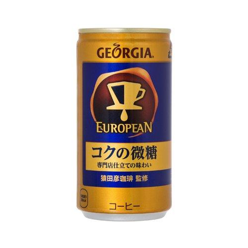 ジョージア ヨーロピアン コクの微糖 缶 185ml×30本
