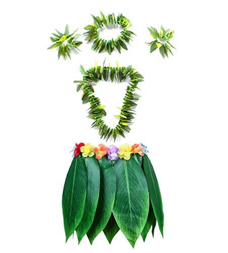 Fortuning's JDS Hawaiian Hula Leaf Grass Skirt...