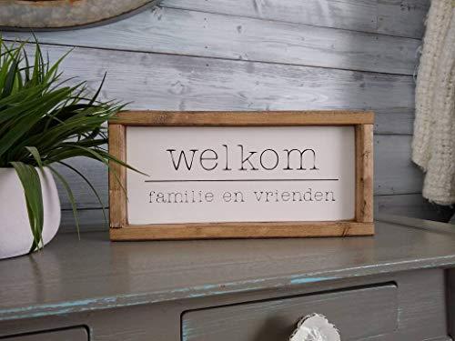 43LenaJon Nederlands Welkom teken, familie en vrienden, Nederlands, Nederlandse gezegden, zinnen, Nederland, gezellik, Holland, Fries, Oma, Opa, geschenken, Pake, Beppe