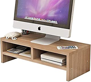 Wooden Monitor Stand,Screen Riser Monitor Riser Screen Stand Desk Attachment Screen Enhancement Display mounting Rack