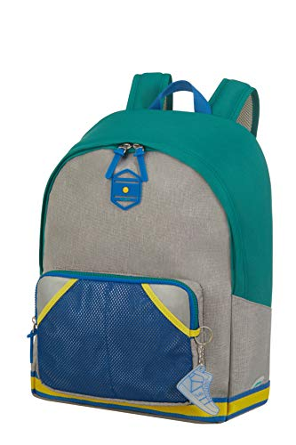 Samsonite Sam School Spirit - Kinderrucksack L, 41 cm, 22 L, Mehrfarbig (Lemon Fields)
