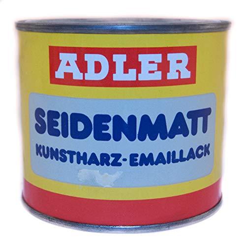 Kunstharz-Emaillack ADLER rot 55 Seidenmatt 0,375l