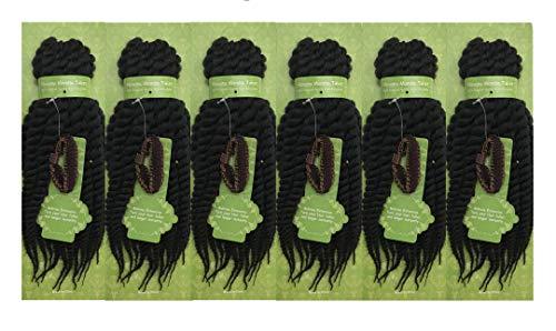 Bellrino 6 Packs 12 inch Havana Mambo Twist Crochet Braids Senegalese...