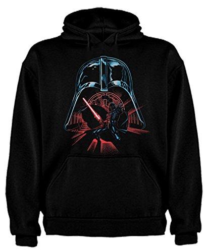 Sudadera de Hombre Star Wars Dark Vader Han Solo Fuerza Kylo REN Leia XL
