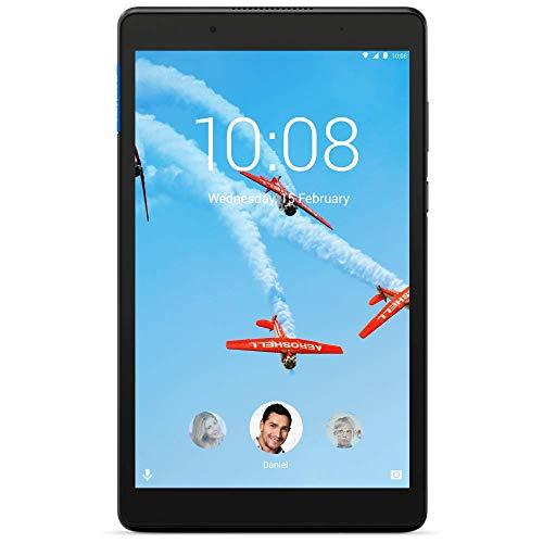 Lenovo Tab E8 8 Inch HD Tablet – (Quad Core 1.3 GHz, 2 GB RAM, 16 GB eMCP, Android Nougat) – Slate Black