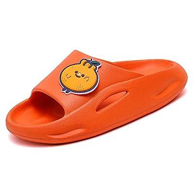 UBFEN Kids Shower Slides Boys Girls Sandals Beach Pool Non-Slip Slippers Summer Water Shoes(Toddler/Little Kid/Big Kids