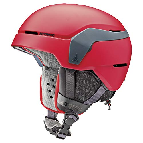 Atomic Count JR Kinder-Skihelm, S (51-55 cm), Rot, AN5005598S
