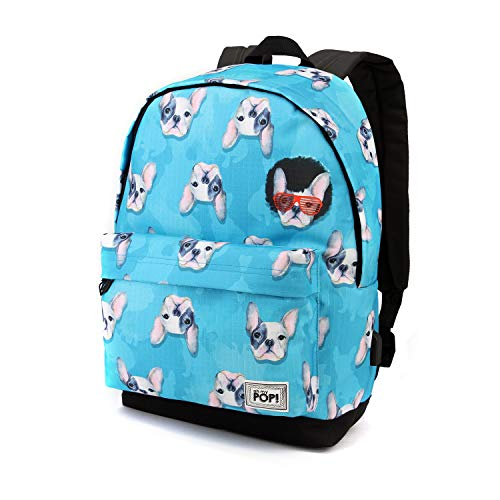 Oh My Pop Oh My Pop! Doggy-HS Backpack Casual Daypack, 42 cm, 23 liters,Multicolour