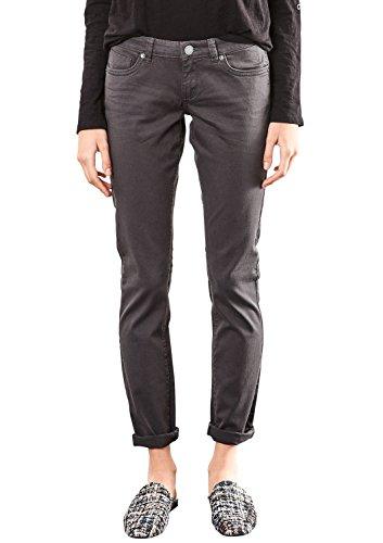 Q/S designed by - s.Oliver Damen 45899710414 Slim Jeans, Grau (Asphalt 9858), W32/L34