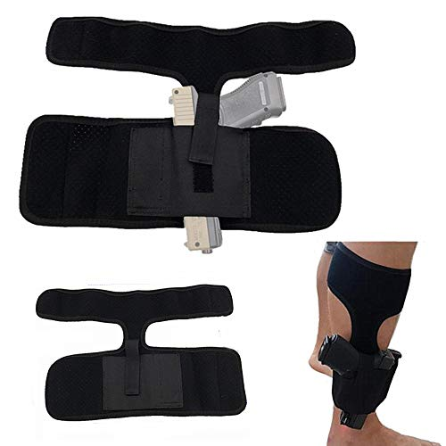 HWZ 2017 Concealed Carry Ankle Leg Holster Universal Series for G17 19 22 23 Ruger Lcp Sig 9mm Gun Pistol