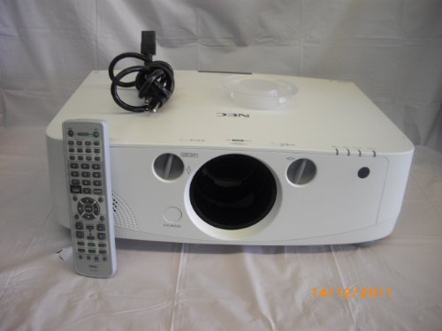 NEC NP-PA550W - LCD Projector - 5500 ANSI lumens - WXGA (1280 x 800) - Widescreen - High Definition 720p