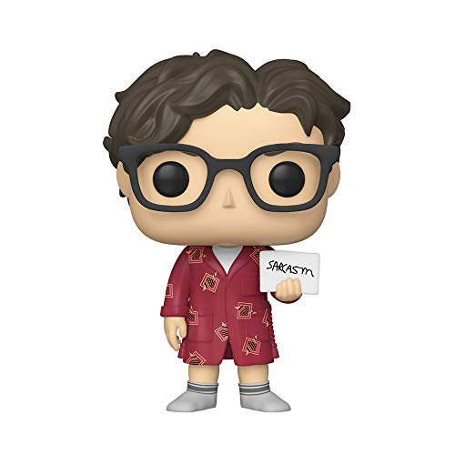 Funko- Pop Vinilo: Big Bang Theory S2: Leonard Figura Coleccionable, Multicolor, Talla Única (38586)