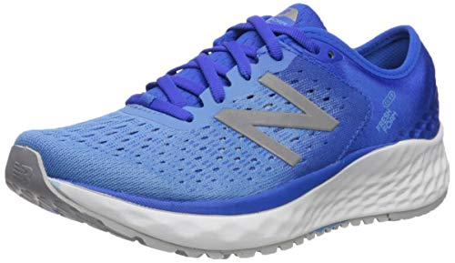 New Balance Women's 1080v9 Fresh Foam Running Shoe, Vivid Cobalt/Light Lapis Blue, 8 M US