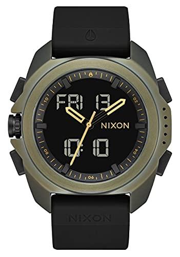 Nixon Reloj Analógico-Digital para Hombre de con Correa en Silicona A12671089-00