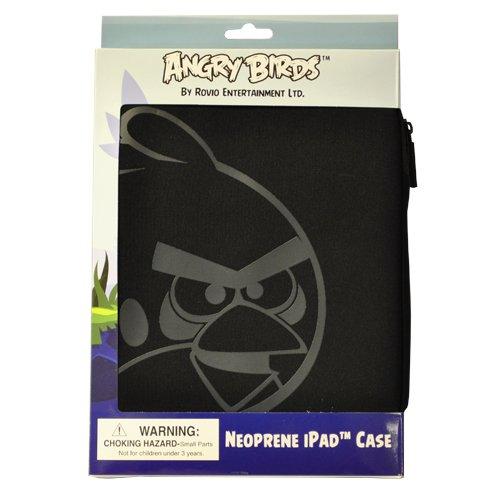 Angry Birds beschermhoes voor iPad gemaakt van siliconen, zwart