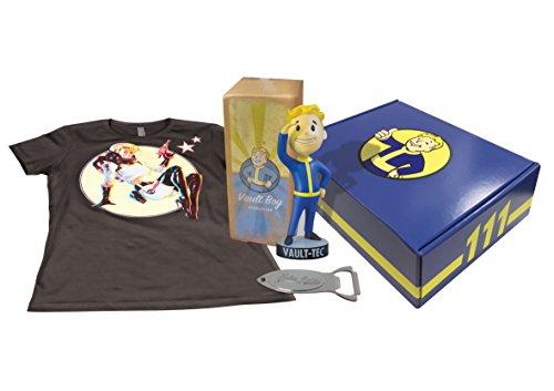 Merc Fallout 4 Mega Box 1 (L) (T-Shirt,Flaschenöffner,Bubble Head) + Collectors Box
