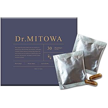 正規店◆Dr.MITOWA(ドクターミトワ)2021年話題のミトコンドリアを増やして活性化!次世代型ミトコンドリアサプリ 2粒×30包 1箱 約1ヶ月分◆メーカー直販オフィシャルショップ