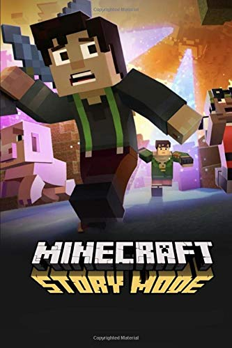 Minecraft Story Mode: Notebook/Journal for Writing, College Ruled Size 6