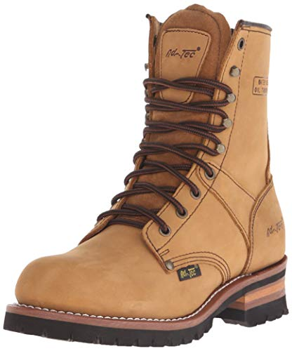 Ad Tec Mens 9 Inch Lug Sole Super Logger Work Boot,...