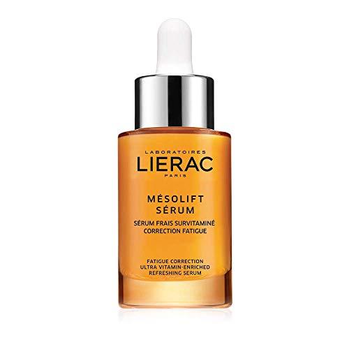 LIERAC MESOLIFT Siero energizzante correzione fatica - Tutti i tipi di pelle - Acido Ialuronico - Anti-rughe - Anti-età - Viso - 30ml