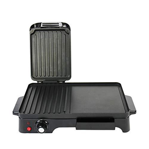 Schallen Electic Black Table Top 2 in 1 Versatile Adjustable Temperature...