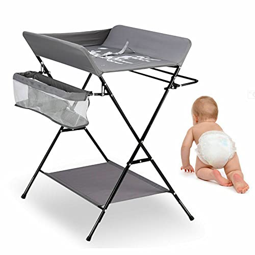 15kg Foldable Changing Station for Children Changing Table Baby Changer...