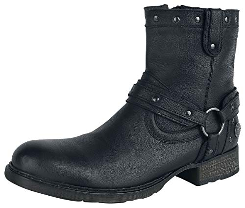 Rock Rebel by EMP Thunder Road Männer Boot schwarz EU45 Leder Basics, Rockwear