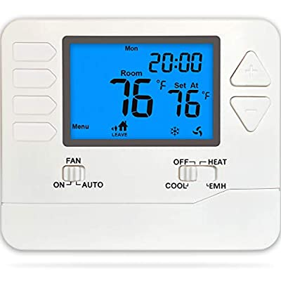 Suuwer 5/1/1 Day Programmable Thermostat