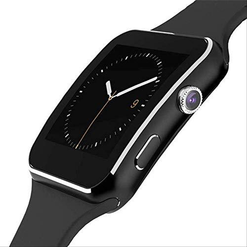 WERNG X6 Reloj Inteligente con La Cámara De La Pantalla Táctil De Apoyo Sim TF Tarjeta Bluetooth Smartwatch con Caja De Venta Al por Menor Negro